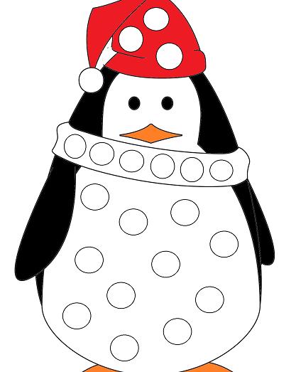 le pingouin en couleurs