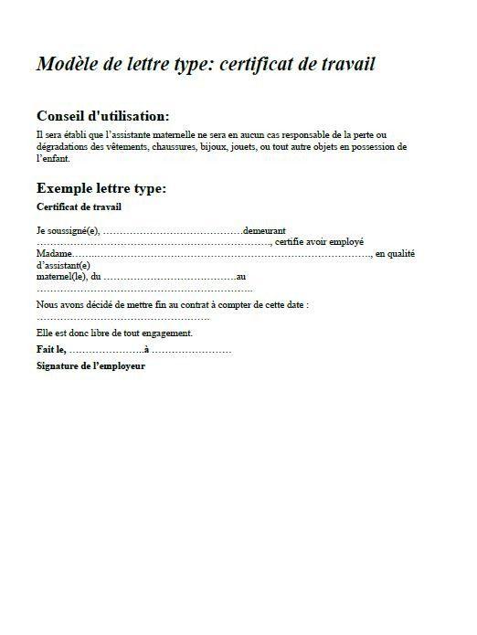 exemple lettre fin de contrat assistant maternelle utiles contrat rupture de contrat exemple lettre fin de contrat assistant maternelle