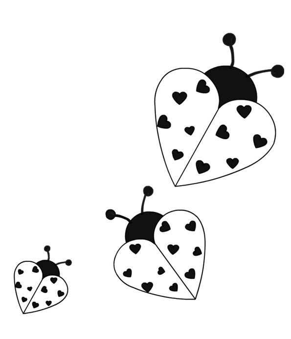 Coloriages Animaux Coccinelle