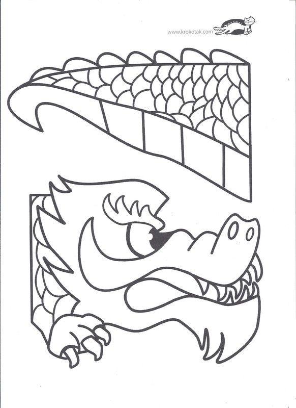 Activites nouvel an chinois - Dessin de dragon chinois ...