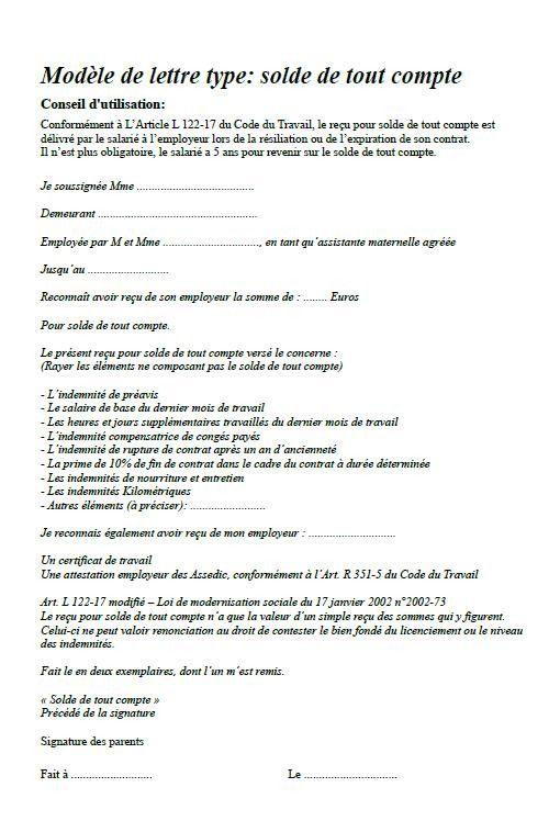 Utiles Contrat Rupture De Contrat