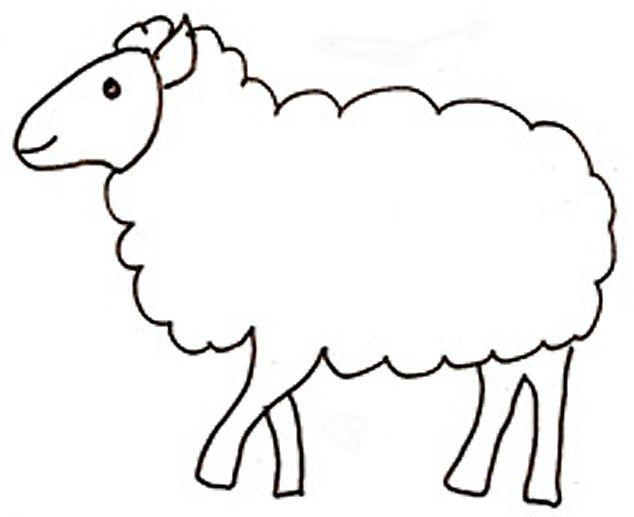 Activites les animaux - Mouton en dessin ...