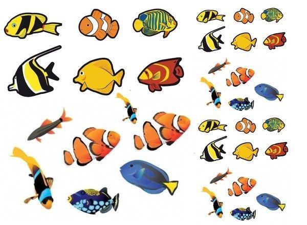 Gommettes a imprimer poissons avril - Poisson dessin couleur ...