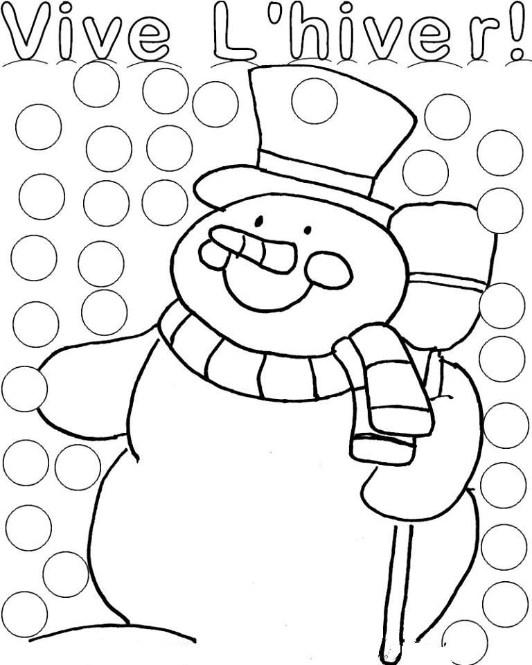Coloriages gommettes noel - Colriage noel ...