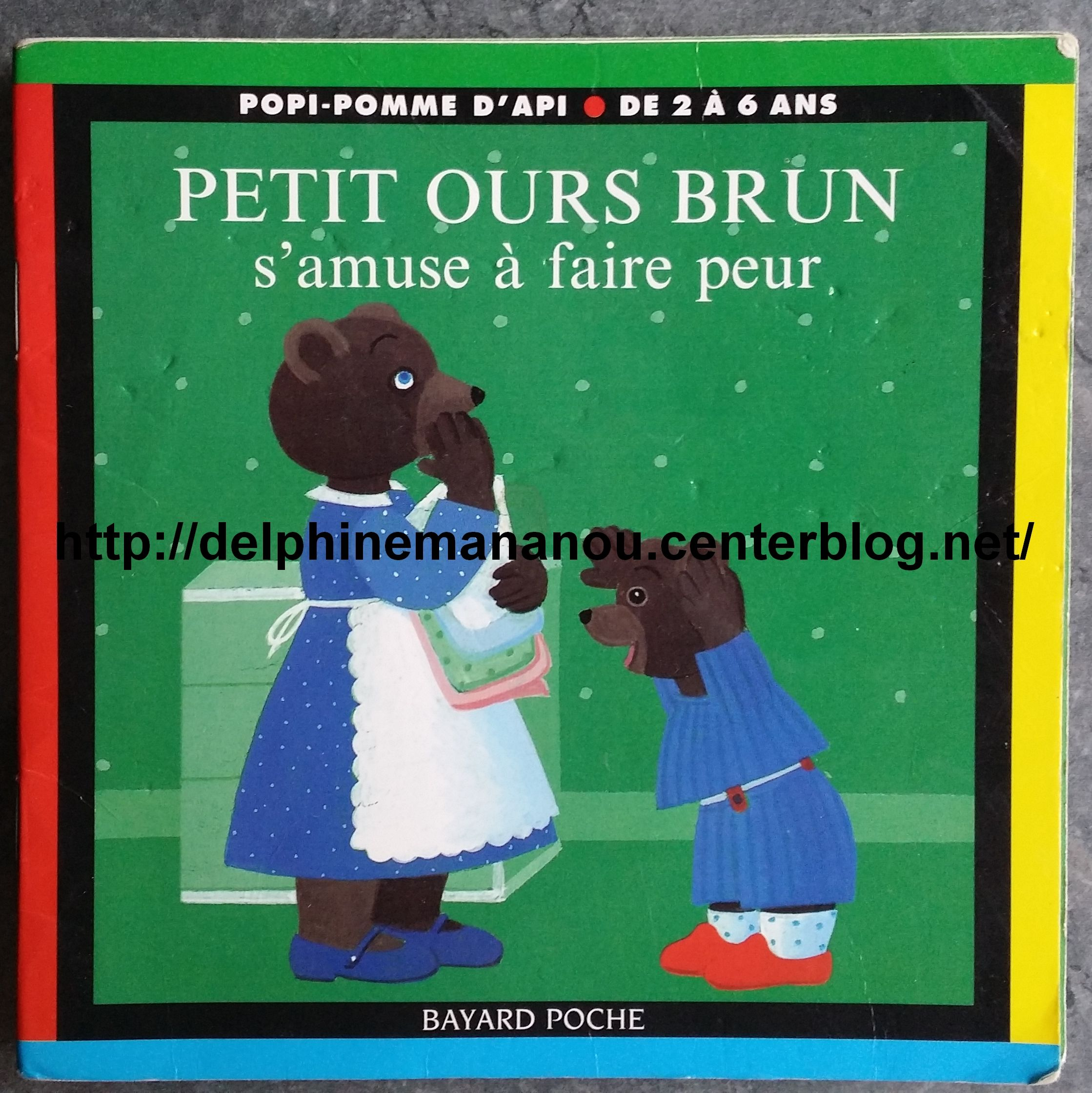 Petit ours brun s 39 amuse a faire peur - Petit ours brun a la mer ...