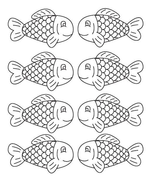 Gabarits poissons avril poissons - Poisson a imprimer gratuitement ...
